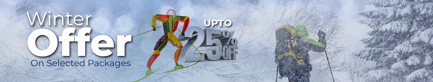 MDG Winter Offer upto25% Discount on Garden packages