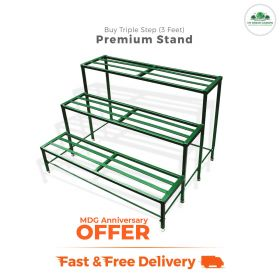 MDG Anniversary offer Triple Step Stand 3 feet