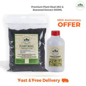 MDG Anniversary offer Plant Meal 2KG Seaweed 500ML