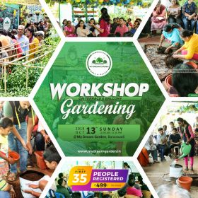 Workshop on Secrets & Simple Technique of Urban Farming on 13-10-19
