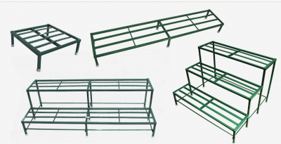 Benefits of Using Metal Stands to setup Organic Garden