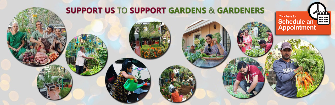 Support Us to Support Gardeners and Garden