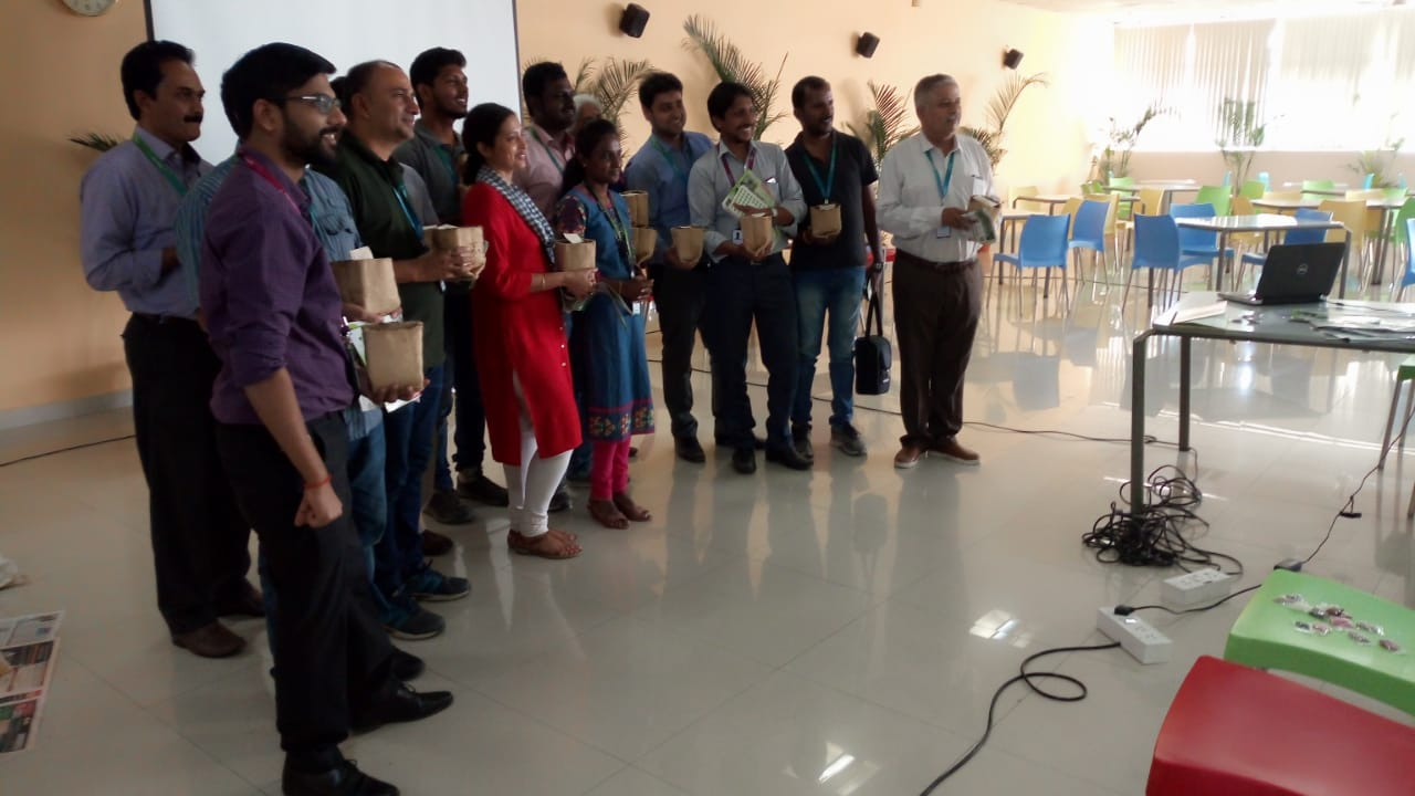 Corporate Workshop conducted at Mphasis Limited